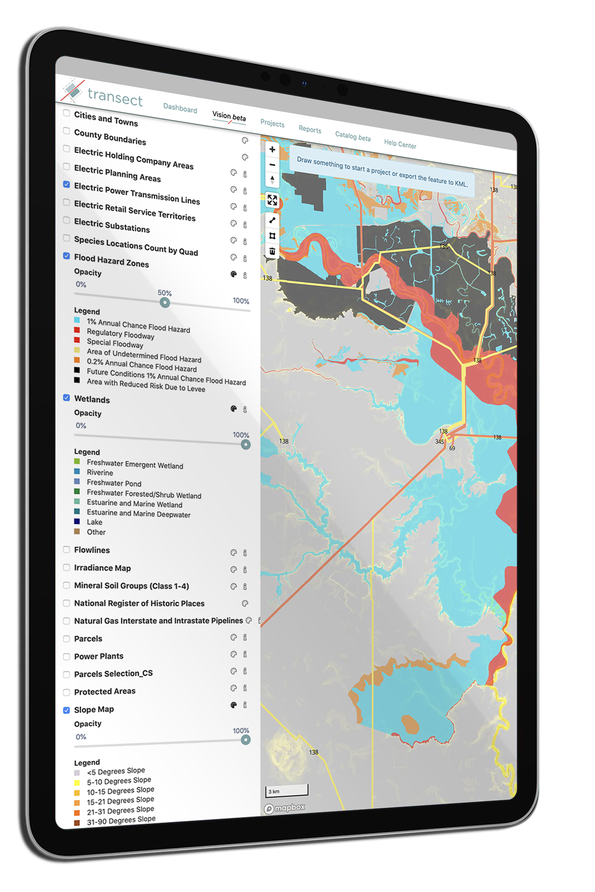 Environmental Mapping Audit